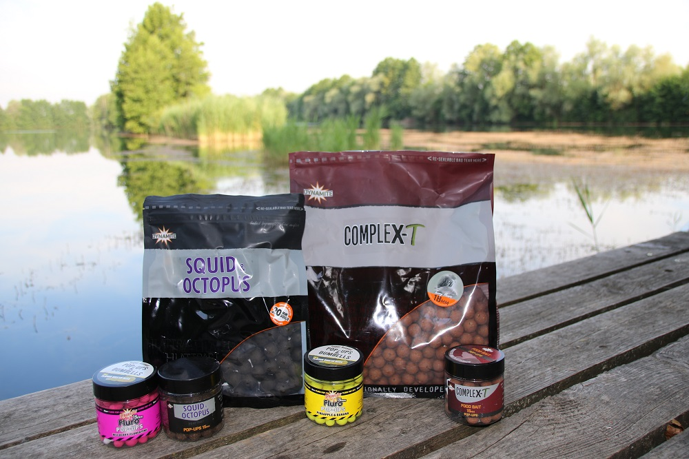 complex-t and squid and octopus boilies for carp fishing