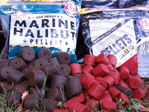 large pellets for carp like marine halibut and robin red