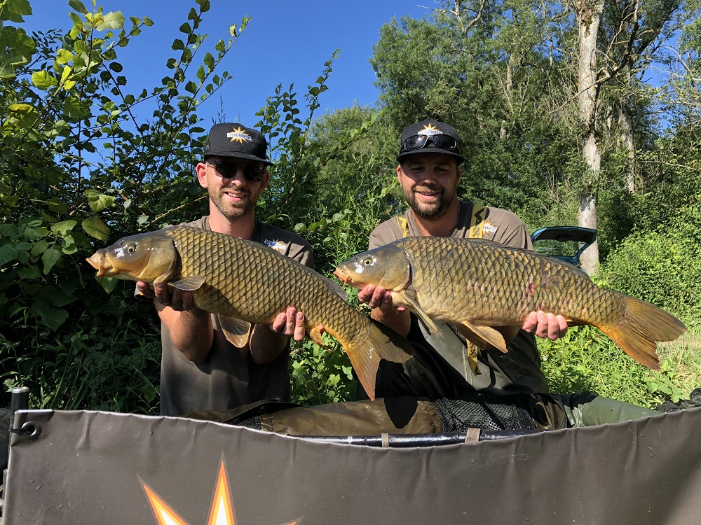 brace of carp from the saone