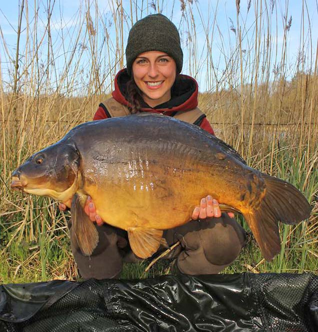 Claudia Darga (Germany) - Dynamite Baits Spain