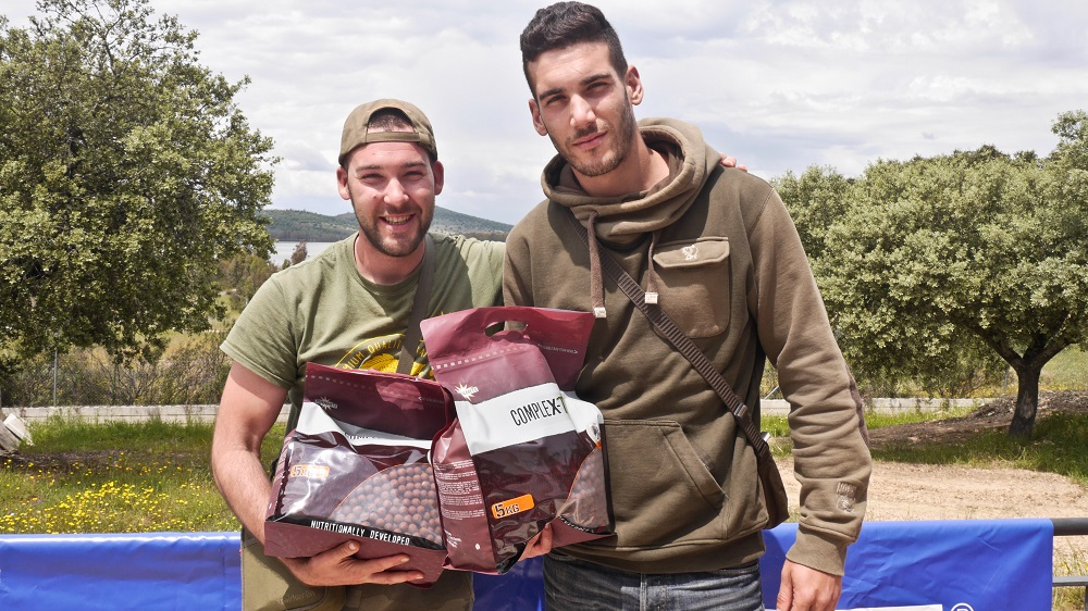 WCC Spain winners with their bait