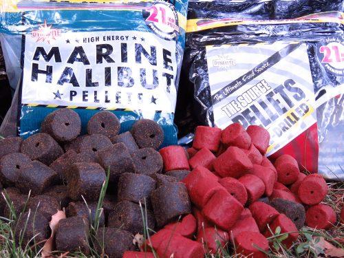 large pellets for carp like marine halibut and robin red