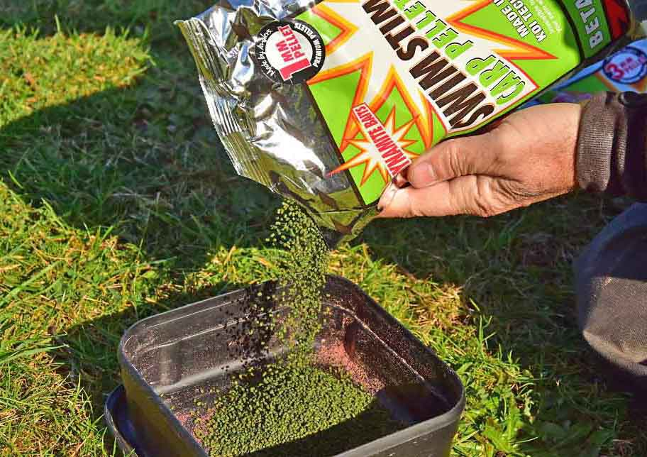 Betaine Green swimstim pellets for bream