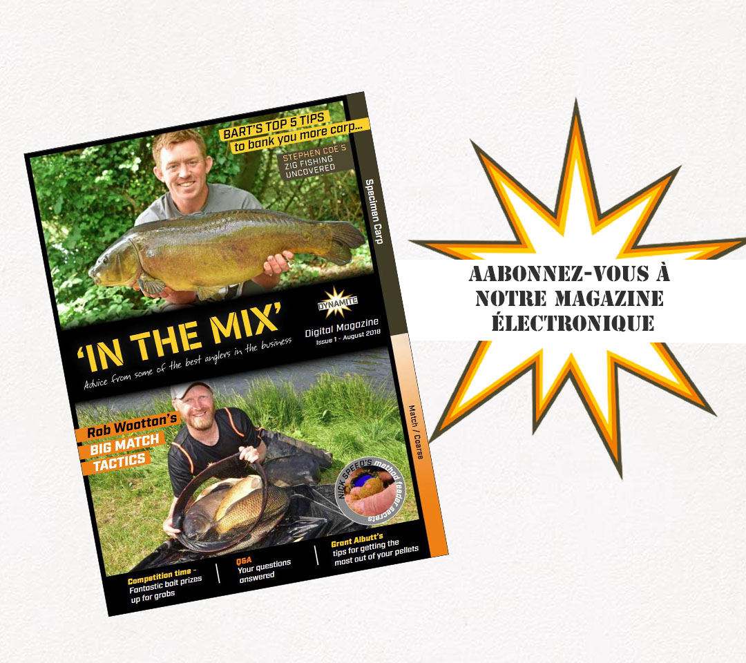 Subscribe to the Dynamite Baits newsletter