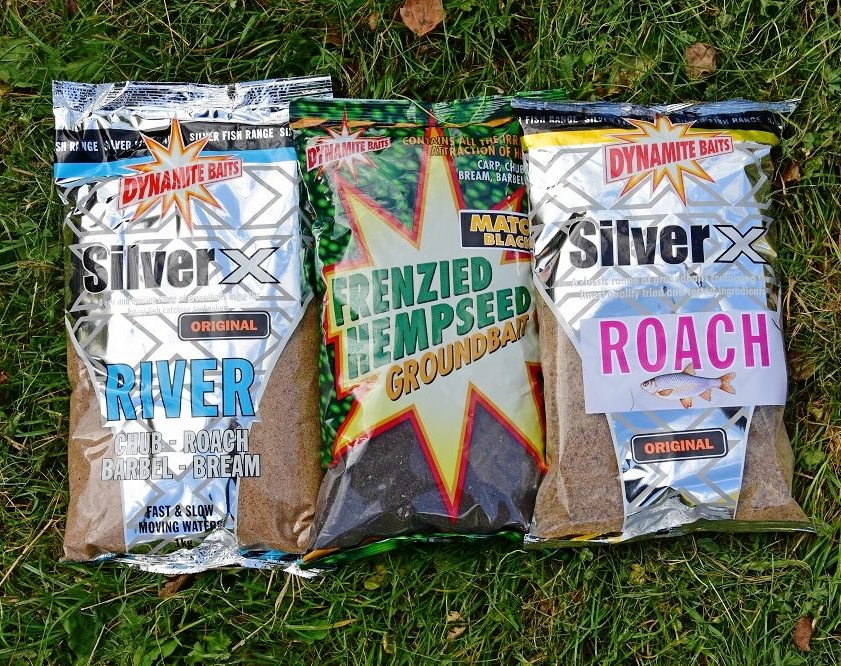 Rob's top river groundbait mix for silverfish