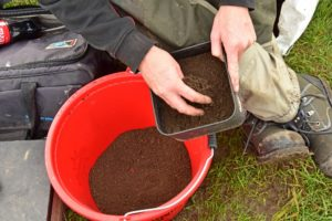 MOLEHILL SOIL IN GROUNDBAIT