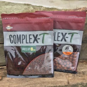 best bait for small and big barbel ompleX-T pellets and boilies
