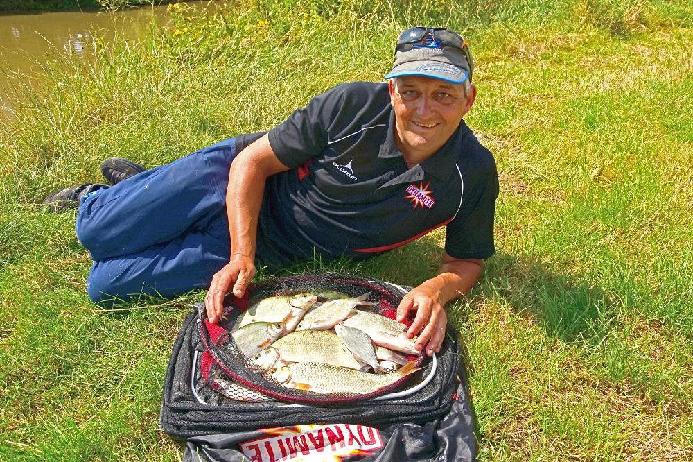 Feeder fishing on tidal rivers – Ian Didcote - Dynamite Baits Hungary