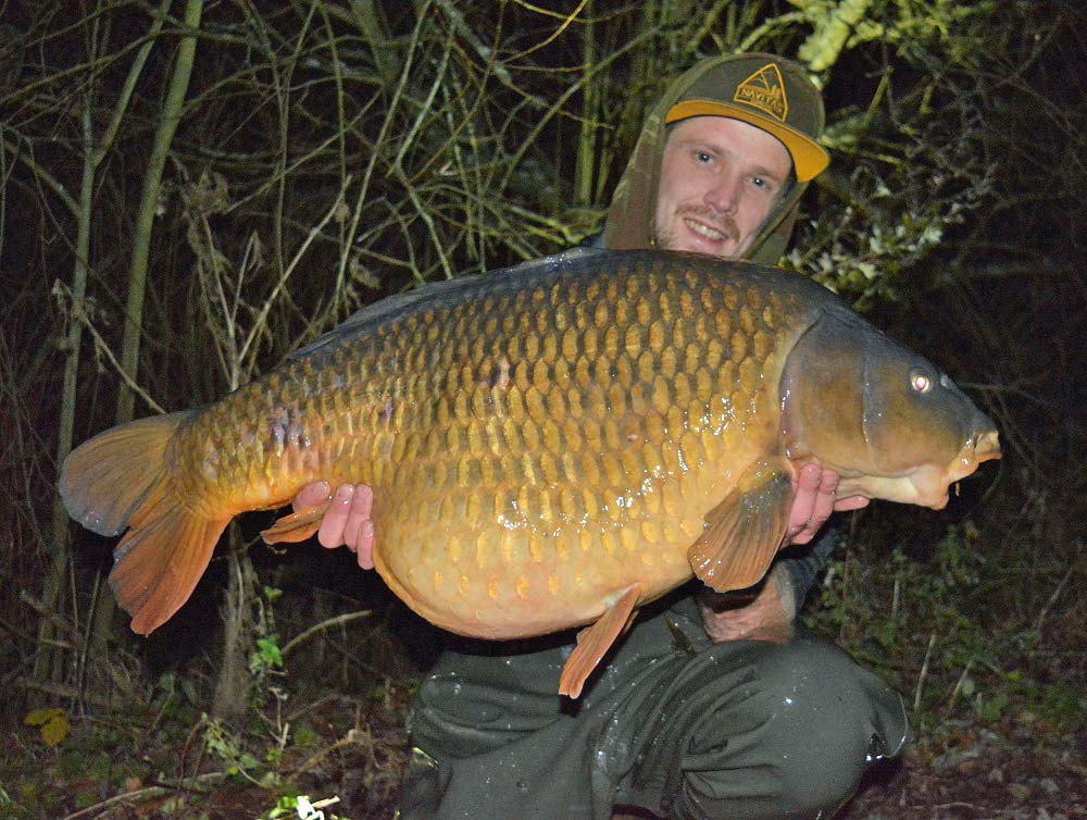 Richie Leat's scar common at 43lb