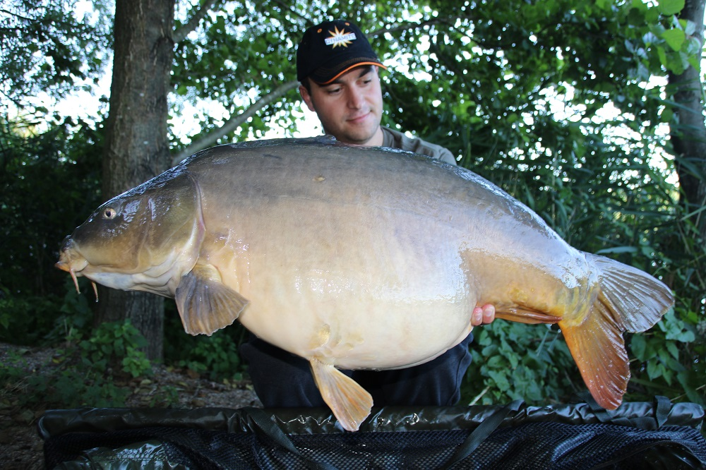 kristof with another german carp