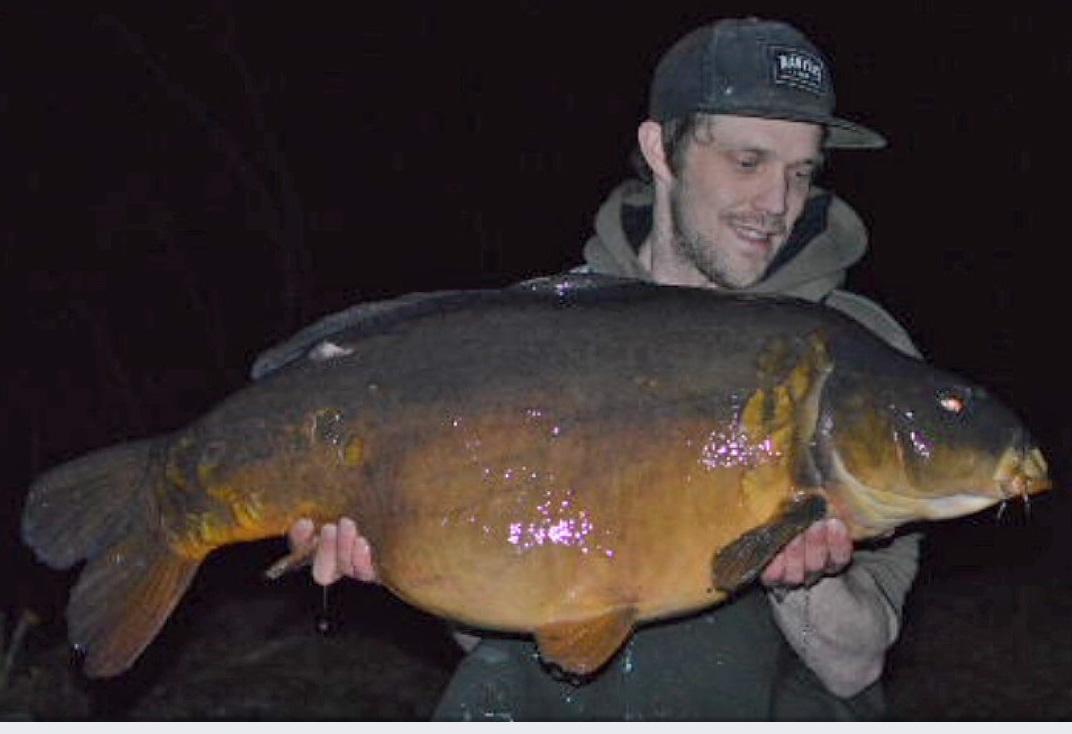 Dynamite monster tiger nut pop-up caught 40lb plus carp