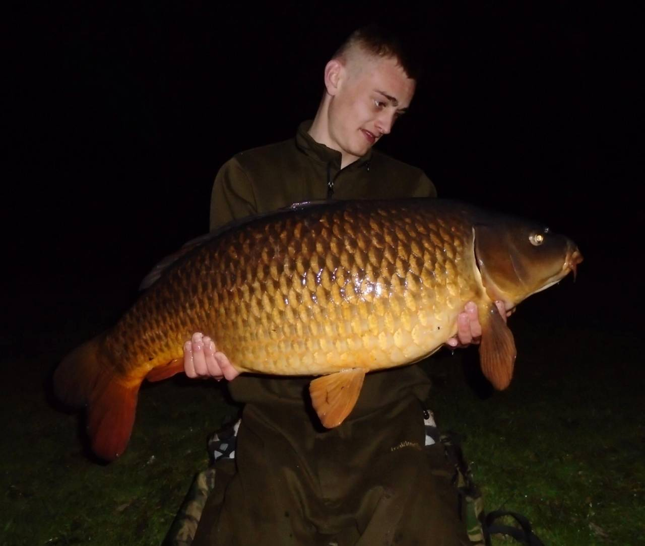 the crave boilies tempted this carp