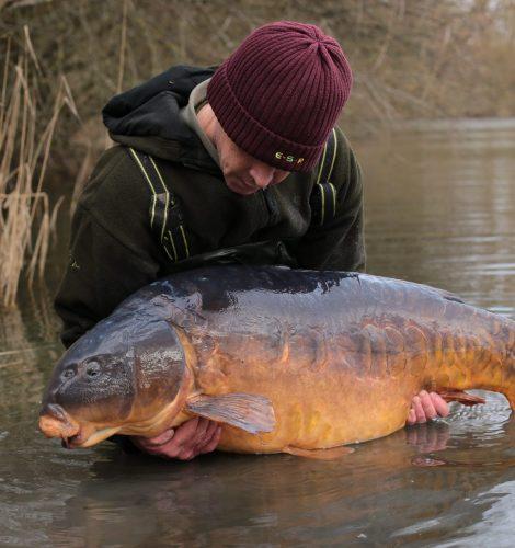 63lb record carp