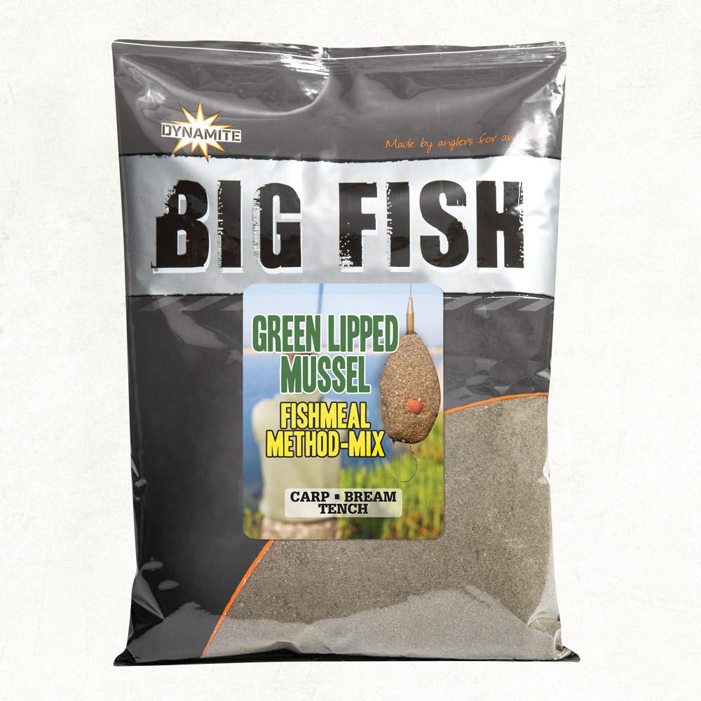 glm method mix groundbait big fish