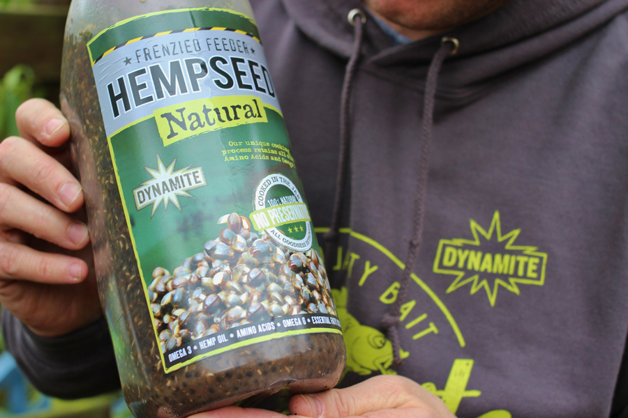 Hempseed and the jars liquid content are paramount (stage 3)