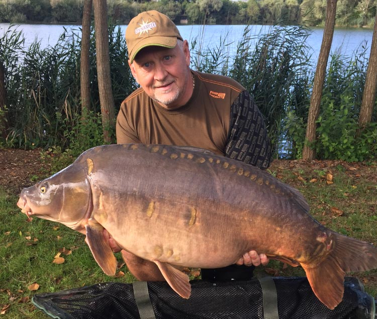 A typical Crystal Waters fish, caught in 2017 by Keith Standley