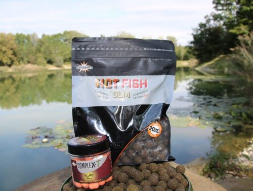 top carp fishing boilie Hot Fish & GLM Lake FZZ