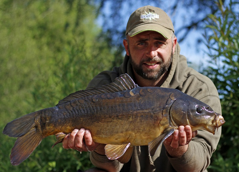 Adam with a stunning River Trent carp