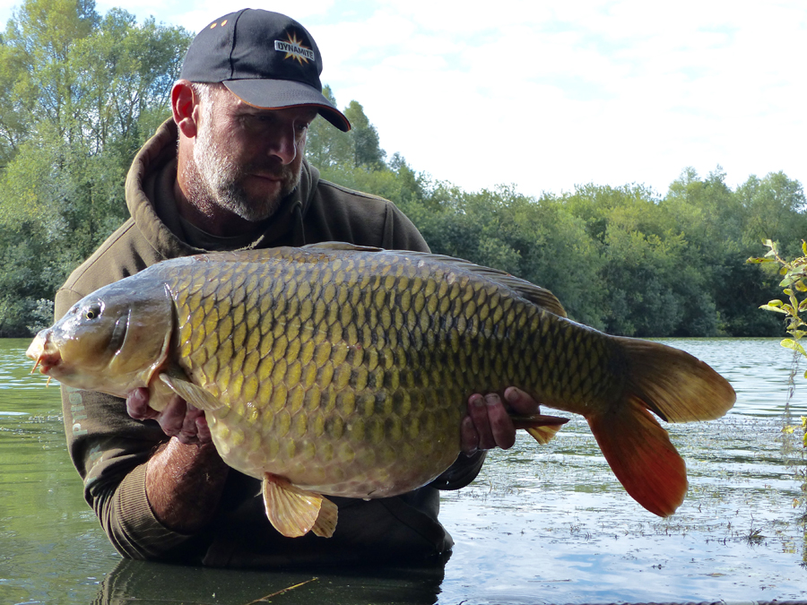 Paul Elt with a lovely common