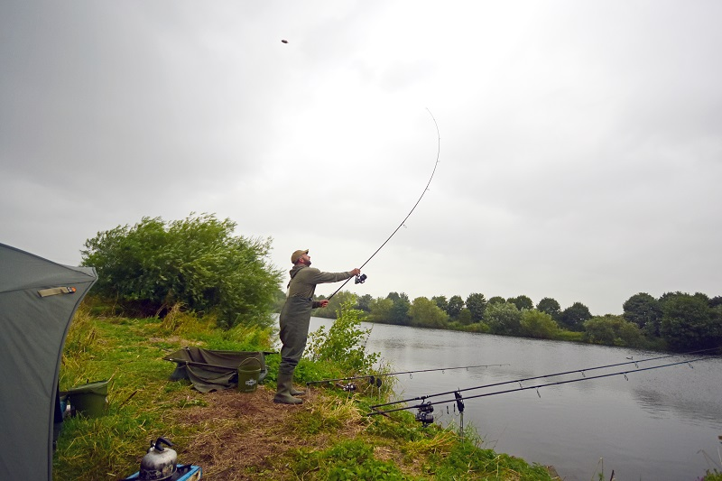 Keep recasting for river carp