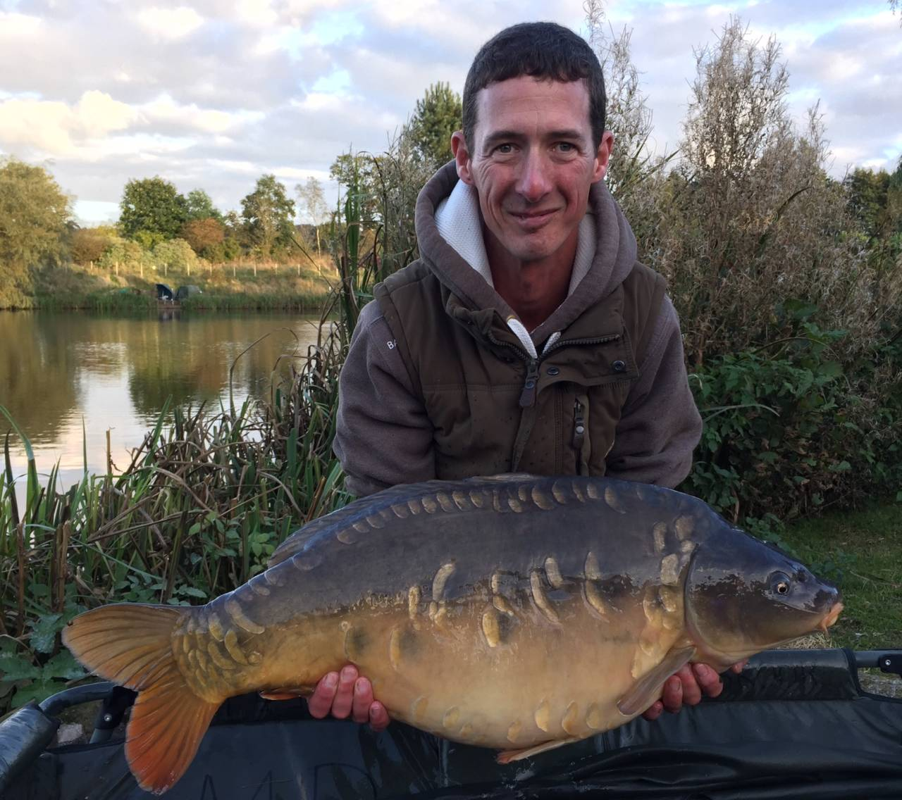 Martin Wells 26lb 8oz mirror