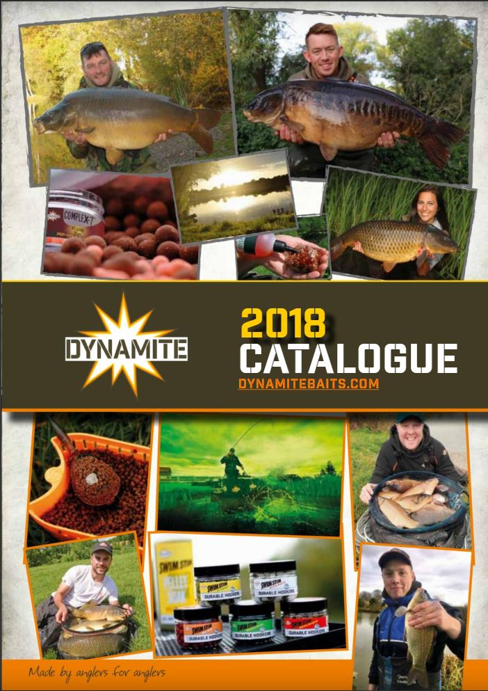 2018 dynamite baits UK catalogue