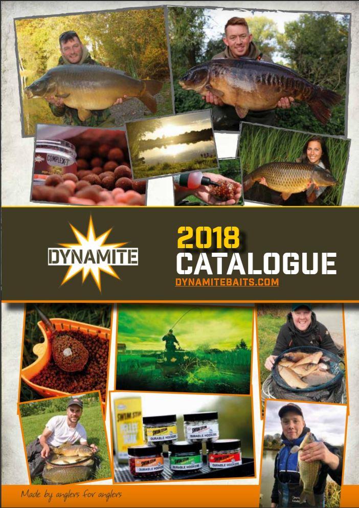 2018 dynamite baits UK catalogue