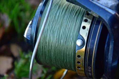Ben uses braided mainline to help him feel the bottom better