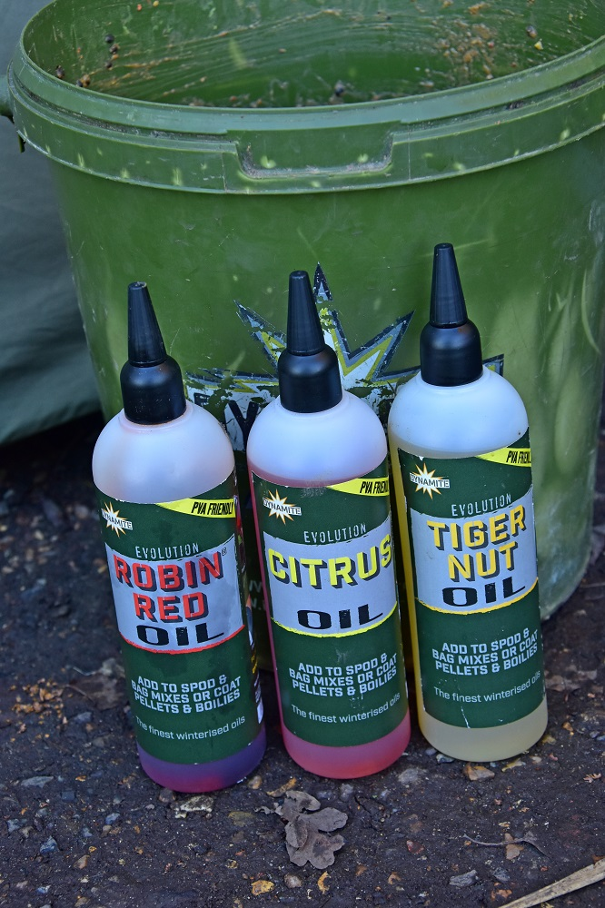 Dynamite's new oils are all winterised so they work really well in coldwater conditions