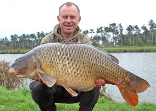 Dan Cleary 4<b>6lb</b> belgium canal carp - Dynamite Baits