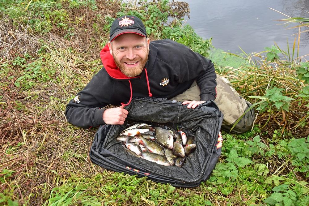Rob Wootton river fishing net