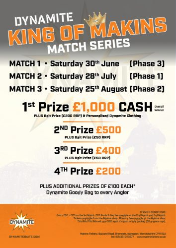 KING OF MAKINS match fishing POSTER