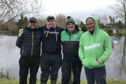Maver Dynamite Oak claimed 2nd in the Tunnel teams of four winter league