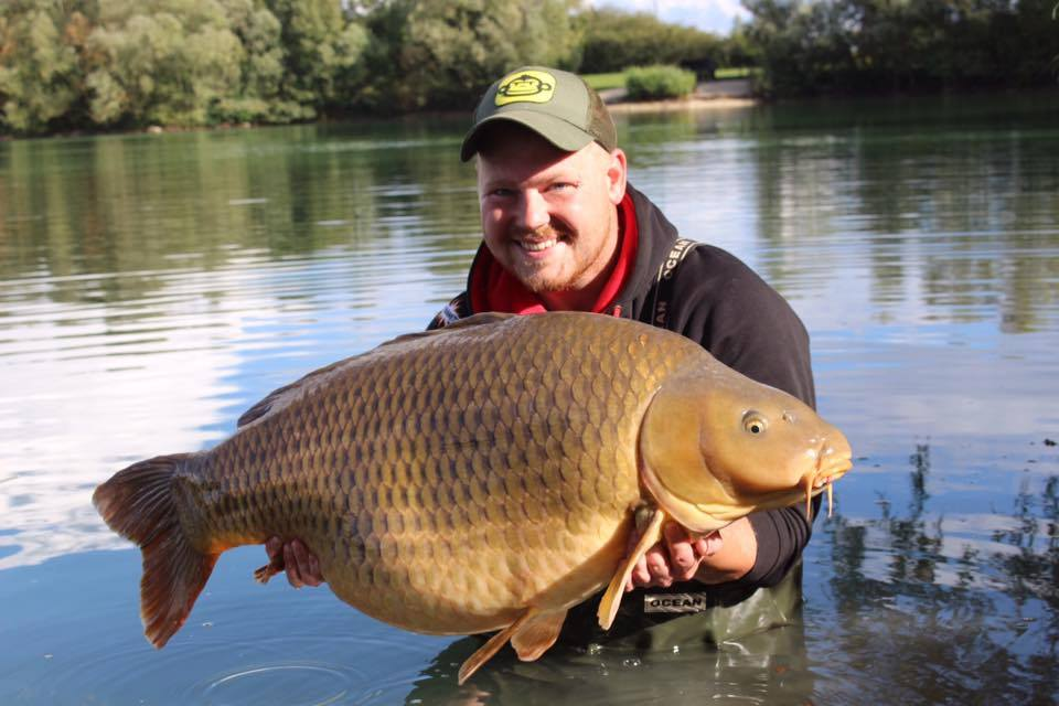 where to go carp fishing in france