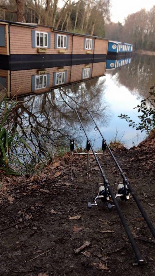 locating canal carp
