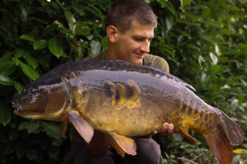 rhys Sanderson 22lb 3oz carp Suffolk Pit monster tiger nut