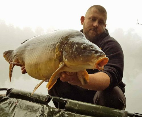 Jerome Heintz, 30lb plus, Frenzied Tiger Nut, France