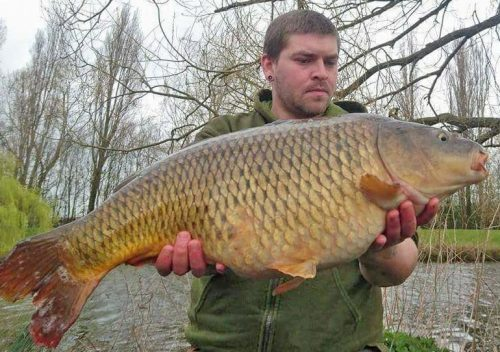 25lb 10oz on the source boilie a great carp fishing bait