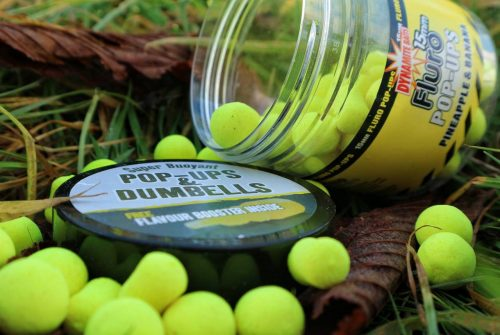 banana & pineapple fluro carp fishing bait