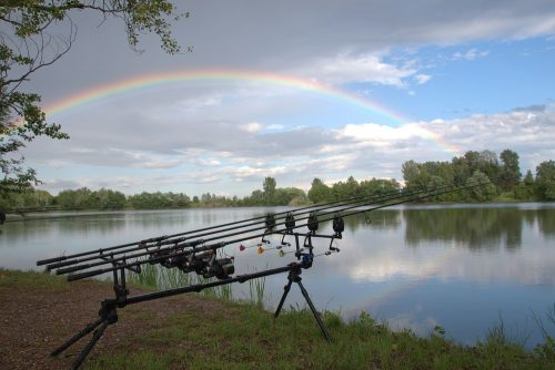 Kristof Cudermand carp fishing rods in bosnia