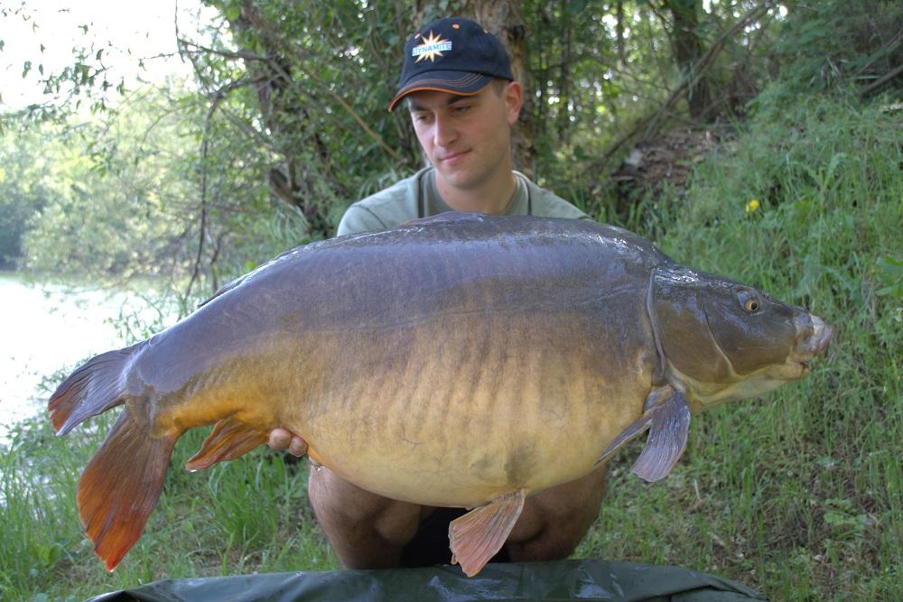 20.6kg bosnian carp Kristof Cuderman