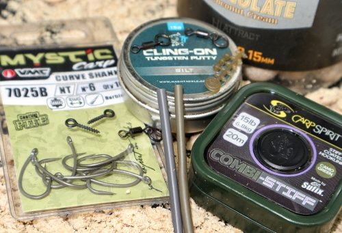 components for ronnie rig carp fishing