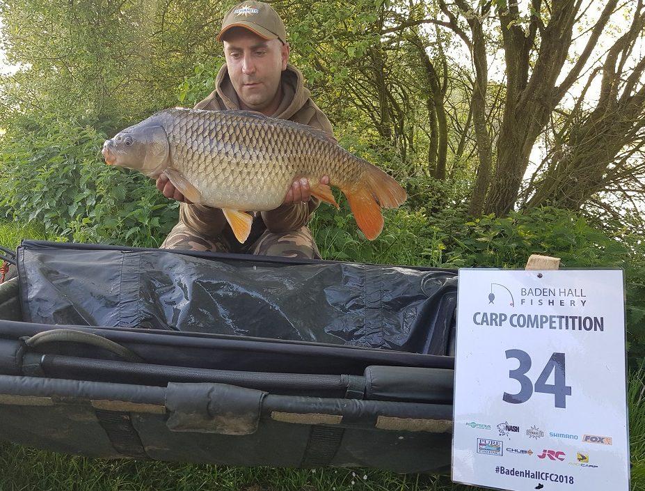 matt ferrari wins baden hall carp fishing cup