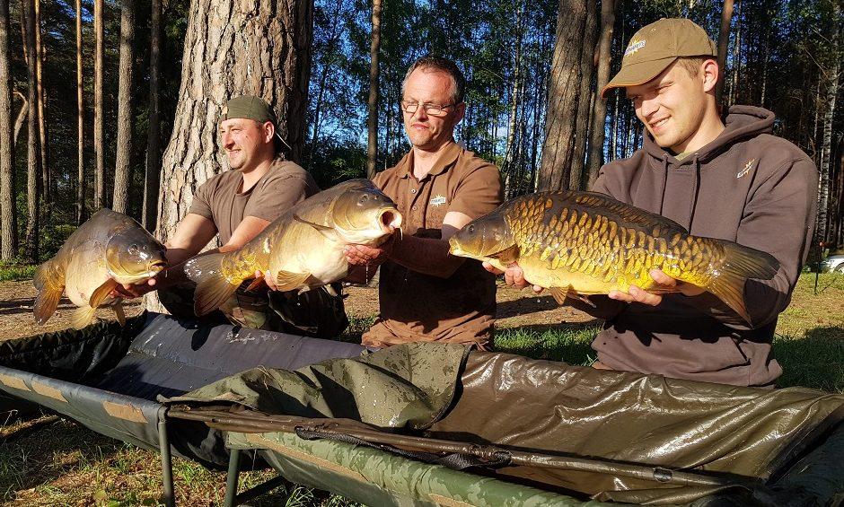 Žvejoklio carp fishing cup 2018 winners