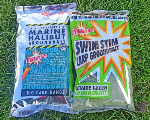 Marine Halibut and SwimStim Green - Nick's groundbait choice