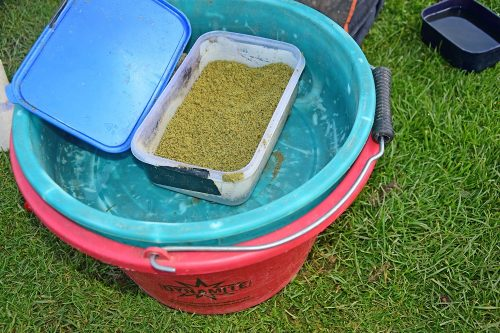 Step 6 - remove what you need and place in a spare tub or container