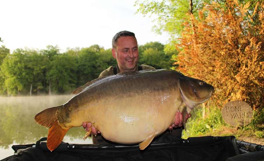 moorlands fishery carp caught on complex-t