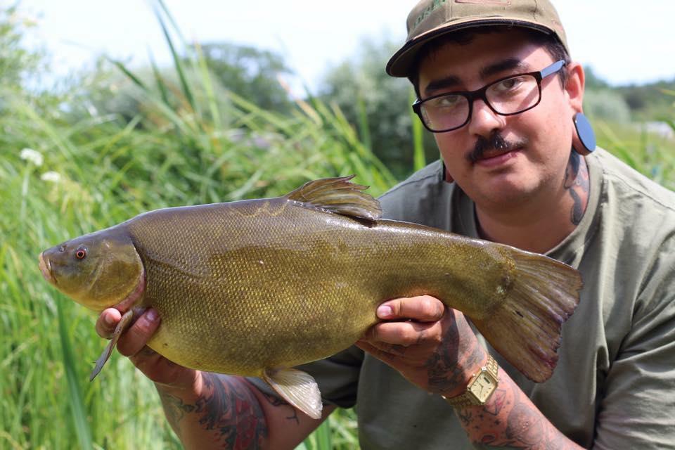 tench fishing matt fernandez