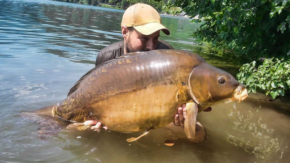 thomas santandrea 40lb slovenia carp on the source