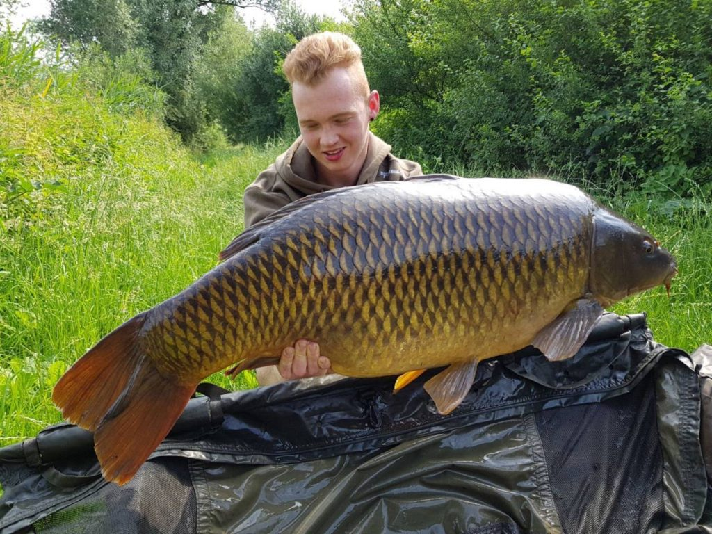 kay stolk 23kg carp on complex-t boilies